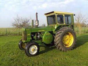Oldtimer Tractor John Deere,