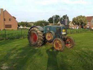Oldtimer Tractor lanz bulldog